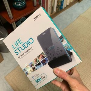 Mobile Life Studio 500GB External Hard Drive